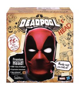 Cabeza Premium Interactiva Deadpool Marvel Legends Ingles - Imagen 1