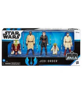Set 5 figuras Jedi Order Star Wars Celebrate the Saga - Imagen 1
