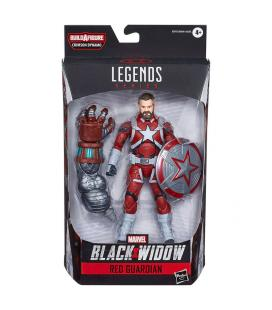 Figura Legends Crimson Black Widow Marvel 15cm - Imagen 1