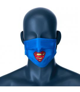 Mascarilla reutilizable Superman DC Comics juvenil