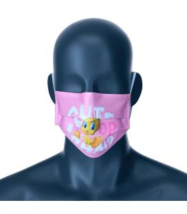 Mascarilla reutilizable Piolin Warner Bros infantil