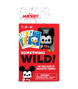 Juego cartas Something Wild! Mickey and Friends Disney Aleman / Español / Italiano - Imagen 1
