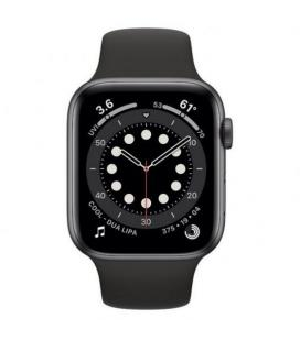 APPLE WATCH S6 44MM GPS CELLULAR CAJA ALUMINIO GRIS ESPACIAL CON CORREA NEGRA SPORT BAND - MG2E3TY/A - Imagen 2