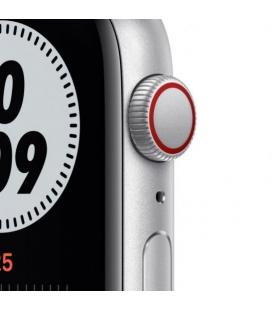 APPLE WATCH SE 44MM GPS CELLULAR NIKE CAJA ALUMINIO CON CORREA PLATINO Y NEGRO NIKE SPORT BAND - MG0 - Imagen 4