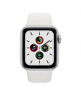 APPLE WATCH SE 40MM GPS CELLULAR CAJA ALUMINIO CON CORREA BLANCA SPORT BAND - MYEF2TY/A - Imagen 2