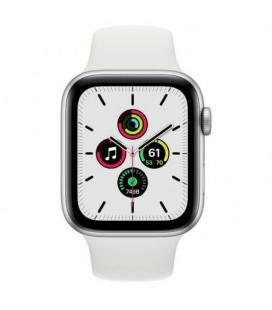 APPLE WATCH SE 44MM GPS CELLULAR CAJA ALUMINIO CON CORREA BLANCA SPORT BAND - MYEV2TY/A - Imagen 2