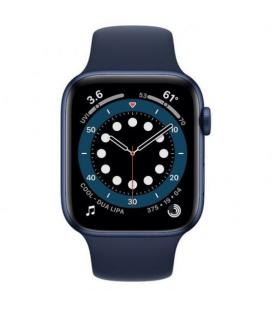 APPLE WATCH S6 44MM GPS CELLULAR CAJA ALUMINIO AZUL CON CORREA AZUL MARINO INTENSO SPORT BAND - M09A - Imagen 2
