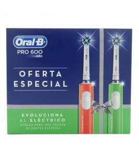 Cepillo Dental Braun Oral-B Pro6000/ Pack 2 uds