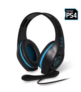 AURICULARES CON MICRÓFONO PARA PS4 SPIRIT OF GAMER PRO-SH5 - DRIVERS 40MM - CONECTOR JACK 3.5MM - CABLE 1M - Imagen 1